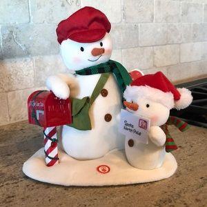 NWT Hallmark Special Delivery plush techno snowman